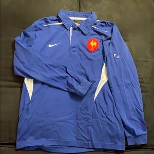 Vintage Nike French National Rugby Shirt